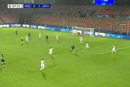Goal: Midtjylland 0 - 4 Atalanta Bergamo 89' Miranchuk