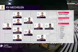 Speeldag 11 Club Brugge - KV Mechelen (2-2)