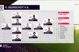 Speeldag 12 KV Kortrijk - Beerschot (5-5)
