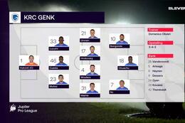 Speeldag 12 STVV - KRC Genk (1-2)