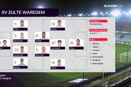 Speeldag 12 Cercle Bruges - SV Zulte Waregem (1-3)