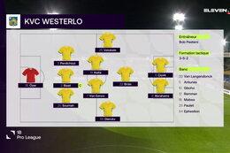 Speeldag 5 Club NXT - KVC Westerlo (1-1)