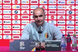 """Martinez: """"Eden had heel graag meegedaan met deze match"""""""