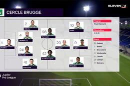 Journée 13 W.-Beveren - Cercle Bruges (0-2)