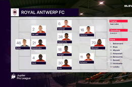 Speeldag 13 KV Oostende - Royal Antwerp (1-1)