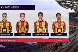 Speeldag 13 SV Zulte Waregem - KV Mechelen (1-2)