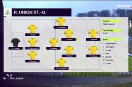 Speeldag 11 Union Saint Gilloise - RWD Molenbeek (2-1)