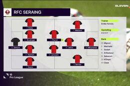 Speeldag 11 KVC Westerlo - RFC Seraing (1-1)