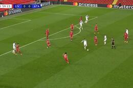 Goal: Liverpool 0 - 1 Atalanta Bergamo 60' Ilicic