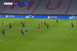Goal: Bayern München 3 - 1 Red Bull Salzburg 73' Berisha