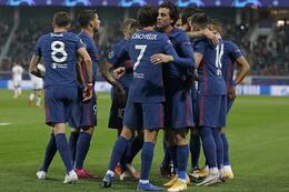 Samenvatting Atlético Madrid - Lokomotiv Moskou