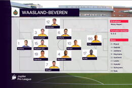 Journée 14 Saint-Trond - Waasland-Beveren (1-1)