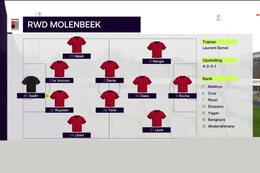 Speeldag Lommel SK - RWD Molenbeek (4-0)