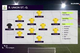 Journée 12 RFC Seraing - Union Saint Gilloise (1-0)