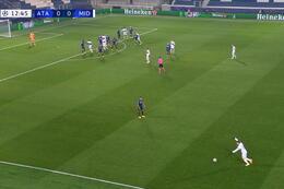 Goal: Atalanta Bergamo 0 - 1 Midtjylland 13' Scholz