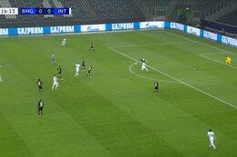 Goal: Borussia M'Gladbach 0 - 1  Inter Milaan 17' Darmian