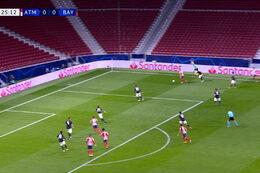 Goal: Atlético Madrid 1 - 0 Bayern Munich 26' João Félix