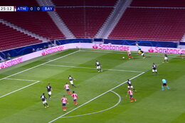 Goal: Atlético Madrid 1 - 0 Bayern München 26' João Félix