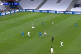 Goal: Marseille 0 - 1 Olympiakos Piraeus 33' Camara