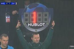 Goal: Borussia M'Gladbach 1 - 1  Inter Milaan 45'+1 Pléa