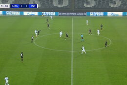 Goal: Borussia M'Gladbach 1 - 3 Inter Milaan 73' Lukaku