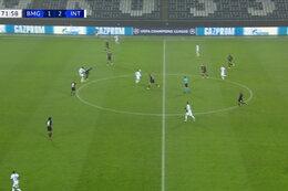 Goal: Borussia M'Gladbach 1 - 3 Inter Milan 73' Lukaku