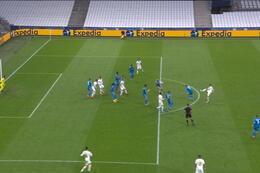 Penalty: Marseille 2 - 1 Olympiakos Piraeus 75' Payet
