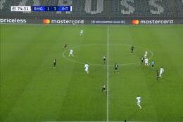 Goal: Borussia M'Gladbach 2 - 3 Inter Milan 76' Pléa