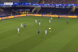 Goal: Club Brugge 3 - 0 Zenit 73' Lang