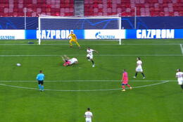 Penalty: FC Sevilla 0 - 4 Chelsea 83' Giroud