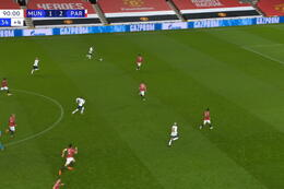 Goal: Manchester United 1 - 3 Paris SG 90'+1 Neymar