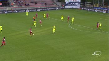 Goal: Moeskroen 1 - 1 KAA Gent 34', Boya