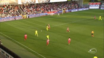 Goal: Moeskroen 0 - 1 KAA Gent 25', Depoitre