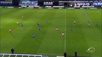 Goal: SV Zulte Waregem 2 - 2 KAA Gent 76', Yaremchuk