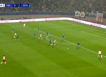Goal: RB Leipzig 1 - 1 Zenit 49', Laimer