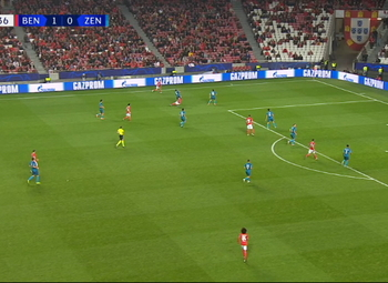 Penalty: Benfica 2 - 0 Zenit 58', Pizzi