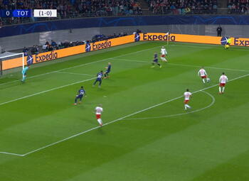 Goal: RB Leipzig - Tottenham Hotspur 10', Sabitzer