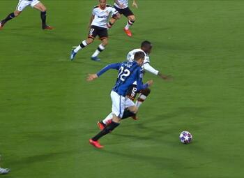 Penalty: Valencia CF 0 - 1 Atalanta Bergamo 03', Ilicic
