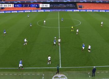 Goal: Valencia CF 3 - 2 Atalanta Bergamo 67', Torres