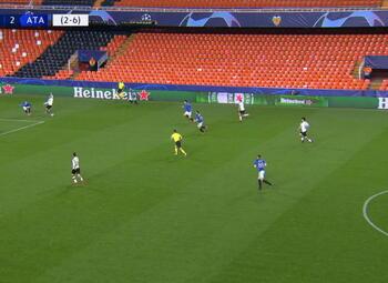 Goal: Valencia CF 2 - 2 Atalanta Bergamo 51', Gameiro