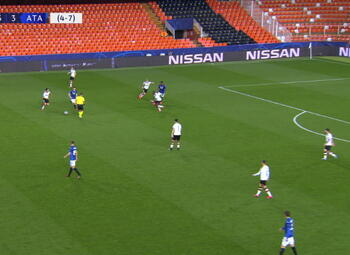 Goal: Valence CF 3 - 4 Atalanta Bergamo 82', Ilicic