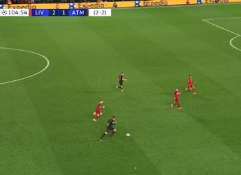 Goal: Liverpool 2 - 2 Atlético Madrid 105', Llorente