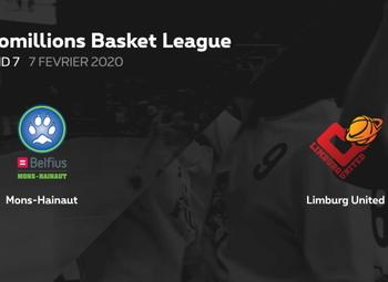 Samenvatting Mons-Hainaut - Limburg United