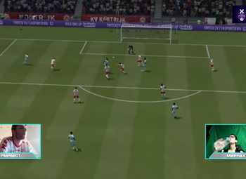 Samenvatting halve finale KV Kortrijk (Pro) - Sporting Charleroi (Pro)