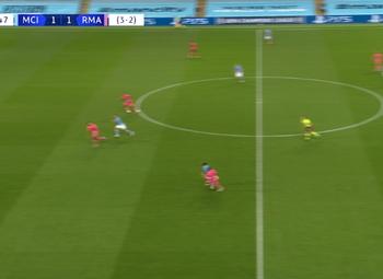 Goal: Manchester City 2 - 1 Real Madrid 68' Gabriel Jesus
