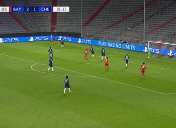 Goal: Bayern München 3 - 1 Chelsea 76' Tolisso