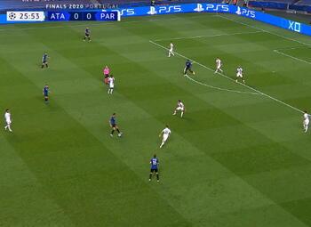 Goal: Atalanta Bergamo 1 - 0 Paris SG 27' Pašalic