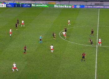 Goal: RB Leipzig 2 - 1 Atlético Madrid 88' Adams