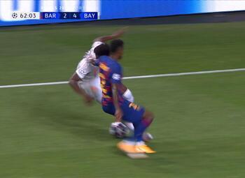 Goal: FC Barcelona 2 - 5 Bayern München 63' Kimmich
