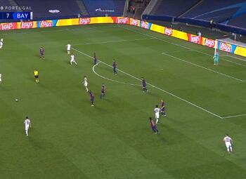 Goal: FC Barcelona 2 - 8 Bayern München 87' Coutinho